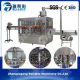 Máquina de rellenar de Tribloc Rinser del llenador del refresco carbónico automático del capsulador