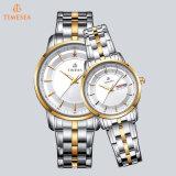 Horloge 70025 van de Mensen en van de Dames van het Kwarts van het Roestvrij staal van de Horloges van de manier