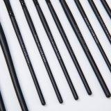 Großhandelsziege-Haar-Verfassungs-Pinsel 12 Stücke Arbeitsweg-kosmetische Pinsel-