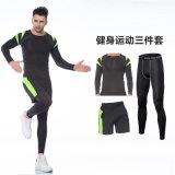 Vêtements de sport de forme physique de survêtement de gymnastique du compactage de l'homme