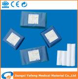 Fasciatura non sterile sterile della garza del cotone