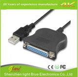 Cabo de impressora USB para paralelo IEEE 1284