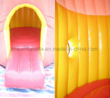 Mini castillo inflable modificado para requisitos particulares de la gorila para los cabritos