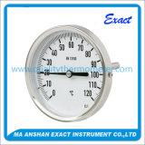 高品質の産業のためのスチール・ケースのバイメタル温度計