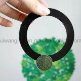 Bâti magnétique de forme ronde, bâti de photo d'aimant, cadre de tableau