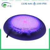 Alta indicatore luminoso subacqueo della piscina montato del Qty RGB superficie di modello inserita/disinserita LED