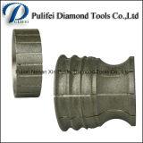 돌 가는 단면도 바퀴에 의하여 소결되는 세그먼트 다이아몬드 회전 숫돌