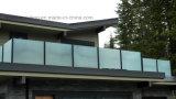 Черный Railing Tempered стекла заморозка Baluster для балкона виллы