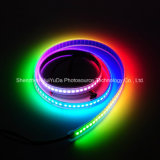 RGB IP67フルカラーSMD5050チップ144LEDs 43.2W DC24V LEDストリップ