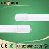 Ampoule de la vente 9W DEL de Ctorch de tube nano chaud de la lampe T8 T8 DEL