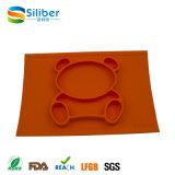 Bebê popular do produto comestível que janta a placa, placa de Placemat do silicone, bebê Placemat do silicone