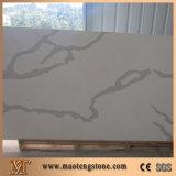 Сляб кварца Carrara камня кухни сразу цены по прейскуранту завода-изготовителя искусственний