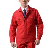 Industriële van het Werk van het Overtrek Eenvormige Katoenen/van de Polyester Veiligheid Eenvormige Workwear
