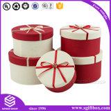 Коробка цветка цвета изготовленный на заказ упаковывая круглая бумажная