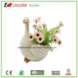 Muchacho lindo Flowerpots&Planters de las ovejas de Polyresin para el jardín decorativo