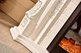 セリウム(330B)が付いている旧式な木製のホーム家具のヒーターの電気暖炉