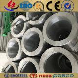 Oval anodizado expulso 6061 tubulação 6063 7075 redonda de alumínio