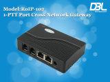 De Gateway van VoIP van het SLOKJE van het dwars-Netwerk van Hoge Prestaties DBL (roIP-102)