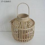 La linterna de bambú para la decoración y el regalo caseros