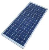 Painel solar poli pequeno do tamanho 10W para a luz do diodo emissor de luz