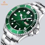 Uhr-Form der doppelten Kalender-Edelstahl-Männer Sports Armbanduhr 72818