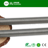 L'acier inoxydable de solides solubles SS304 Ss316 Ss321 a fileté Rod fileté par barre