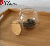 [500مل] [هوت-سل] [بوروسليكت] [هيغقوليتي] يستطيع زجاج يختم تجميع [ستورج تنك] كبيرة طحلب [بوتّل غلسّ] مرطبان مع غطاء خشبيّة إناء كتيم