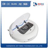 薄いボディ情報処理機能をもった自動再充電のスマートなクリーニングの低価格のロボット掃除機中国