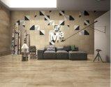 Azulejo esmaltado madera de la porcelana de la madera para la pared y el suelo (LF02)