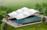 Estructura de la membrana de la tela de la tracción para el pabellón de la piscina