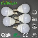 G45 E14 5W СИД освещает шарик SMD 2835 гловальный