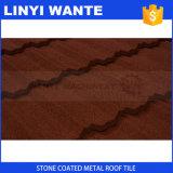 Strato d'acciaio rivestito di pietra del tetto dalla Cina