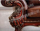 Antike Handcrafted Wohnzimmer-oberstes populäres Belgien-Sofa