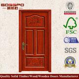 寝室(SP2-003)のためのドアを切り分ける100%の純木