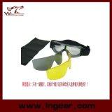 Óculos de proteção Windproof dos óculos de proteção ao ar livre táticos da neve X800