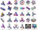 Aleación de cinc colorido trébol cuatro Fidget Spinner mano spinner dedo spinner