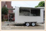 Ys-Fv390d 3.9m 판매 호주를 위한 백색 이동할 수 있는 음식 트럭