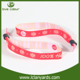 Wristbands tejidos tela de Green Day de la alta calidad