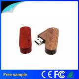 Giro livre por atacado 8GB de madeira Pendrive da impressão do logotipo de China Manufacter