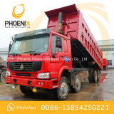 Kipper van de Vrachtwagen van de Stortplaats HOWO van de lage Prijs de Gebruikte 371HP 8X4 met Uitstekende Voorwaarde en Beste Prijs