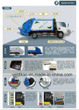 Dongfeng 4X2 Drive 6m3 Compactor Garbage Truck