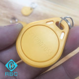 Tag compatível ESCONDIDO T5577 de Keyfobs da microplaqueta de RFID com código do laser