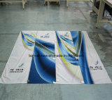 Глянцеватые знамена ткани полиэфира полного цвета (SS-SF-88)