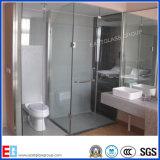 Cuarto de baño de vidrio, vidrio templado curvo, ducha de cristal Puertas de Vidrio