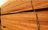long plancher de bois dur de bois de construction de planche de 1800mm Kempas