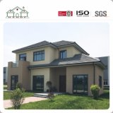 Construction facile et maison préfabriquée en acier de villa de lumière rapide d'installation