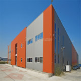 Vorfabriziertes helles Stahlkonstruktion-Metallspeicher-Gebäude für Verkauf