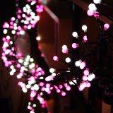 Das späteste White+Pink LED Zeichenkette-Licht für Dekoration