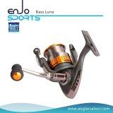 Luna van de visser de Uitgezochte Bas Extreme Lichtgewicht BasKogellagers die van Hpb van het Zoute & Zoet water van de Spoel van de Visserij Spinnende Spoel (BasLuna 200) vissen