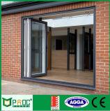 Puerta BI-Plegable de aluminio del nuevo diseño 2014